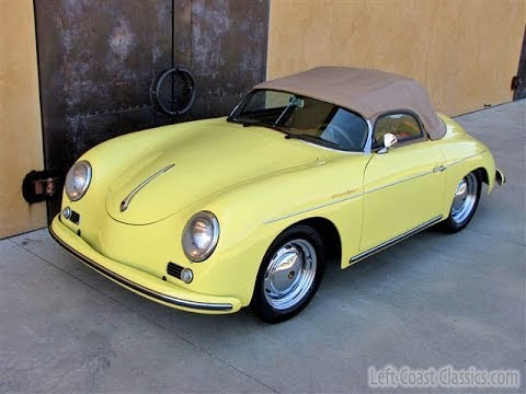1957 Porsche 356 Speedster Beck Built Porsche Replica