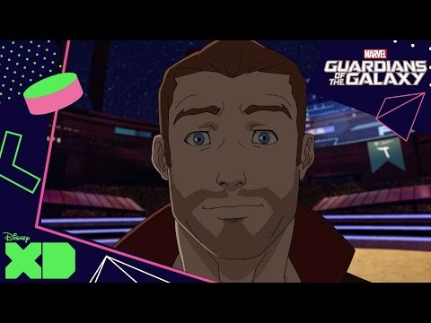 Guardians of The Galaxy | Fox on the Run | Official Disney XD UK