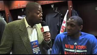 Langston Galloway discusses Knicks Debut