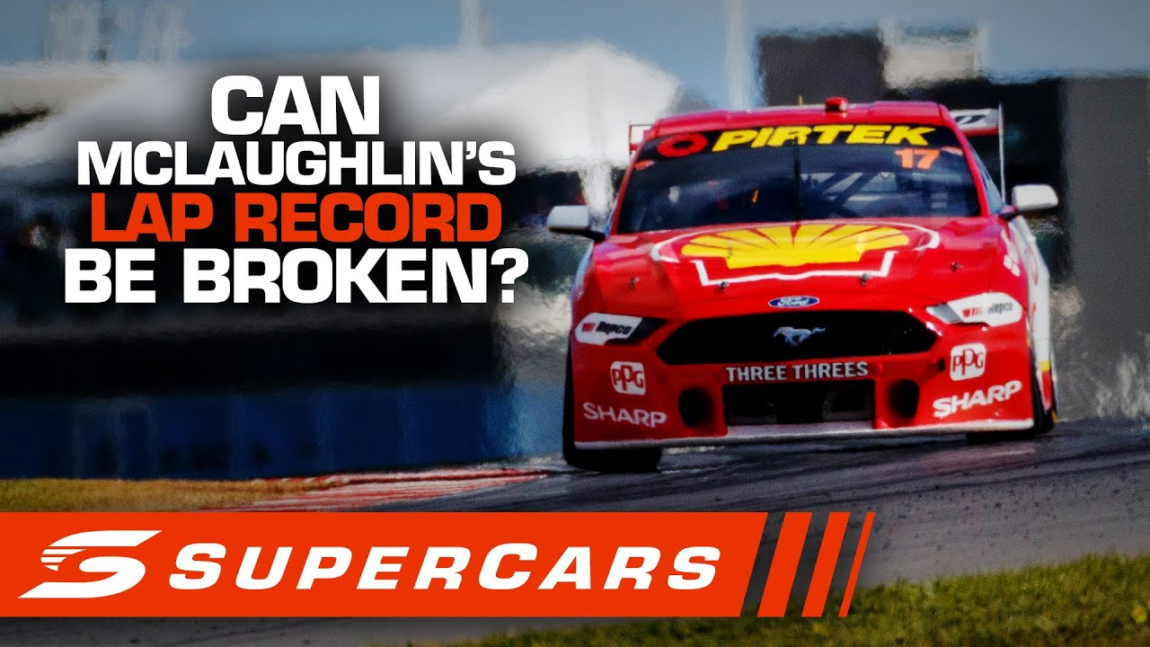 ONBOARD: Can McLaughlin's 1:47.4959 lap record be broken? - The Bend SuperSprint | Supercars 2020