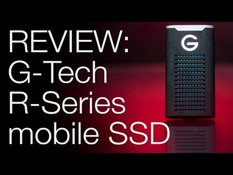 GEAR REVIEW: G-Tech R-Series Mobile SSD