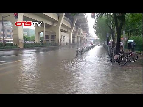 上海暴雨淹城 / Heavy rain caused floods in Shanghai