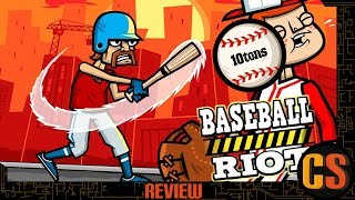 BASEBALL RIOT - SWITCH REVIEW