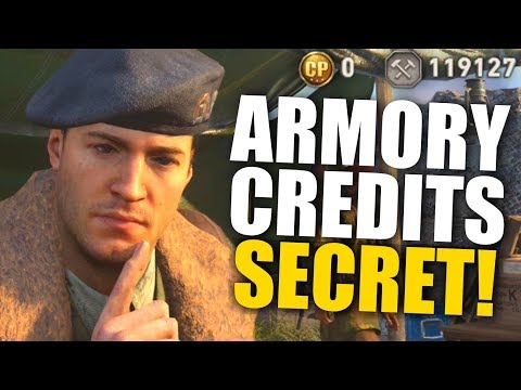 The SECRET To Getting Tons of Armory Credits! (100K+ Method, Easy DLC Guns in COD WWII)