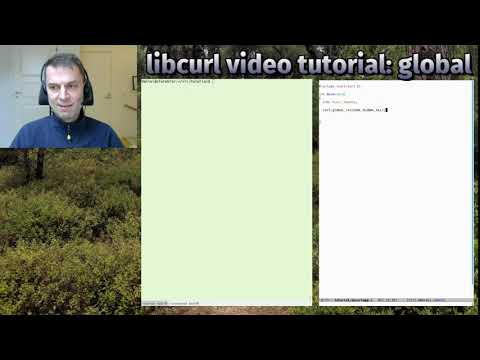 libcurl video tutorial: global thumbnail