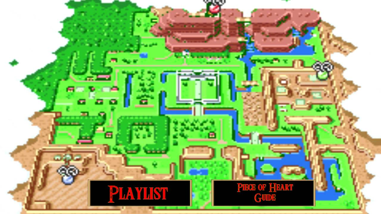 Lets play the legend of zelda a link to the past hyrule map lets play the legend of zelda a link to the past hyrule map aloadofball Gallery