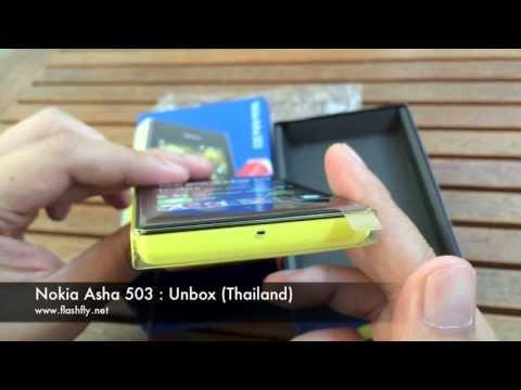 Nokia Asha 503 : Unbox (Thailand)