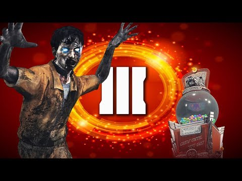 GOBBLE GOBBLE ZOMBIE CHALLENGE (Black Ops 3 Zombies Live Stream)