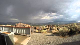 Time Lapse - July 8 2014 Thunderstorms with Heavy Rain