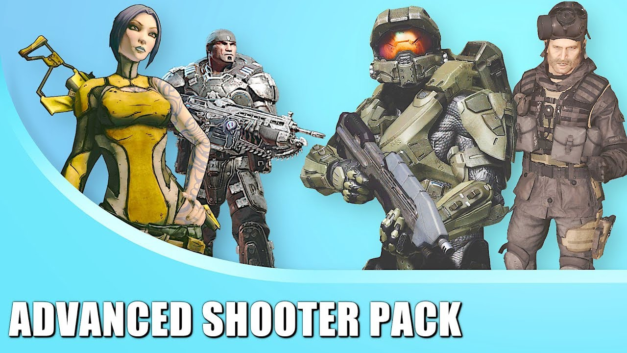 MOD PASS ADVANCED SHOOTER PACK for Strikepack