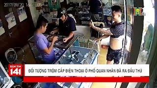 Đối tượng trộm cắp điện thoại ở phố Quan Nhân đã ra đầu thú | Tin nóng | Tin tức 141