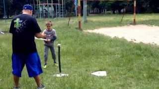 Power Camp 2014 Бейсбол ЗОШ #13