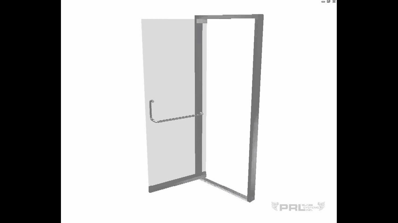Bp150 Glass Door Aluminum Frame Youtube