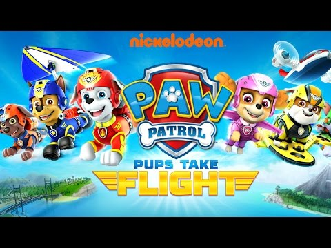 Paw Patrol Pups Take Flight - Chase Zuma Marshall Skye - IOS / Android Apps For Kids by Nickelodeon