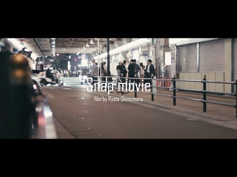 Snap movie. 'OSAKA' VLOG 01