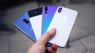 Der große Kameravergleich: iPhone X vs. Galaxy S9+ vs. Pixel 2 XL vs. P20 Pro! - felixba