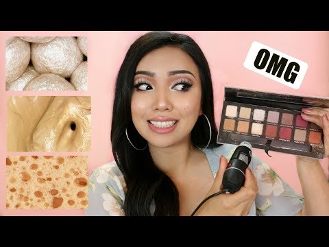 'MAKEUP PRODUCTS' Under a Microscope( So Gross)