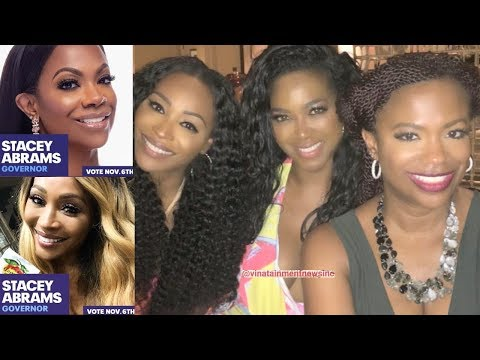 Presidential: Kandi Burruss Talks Kenya Moore RHOA S11 & Voting...
