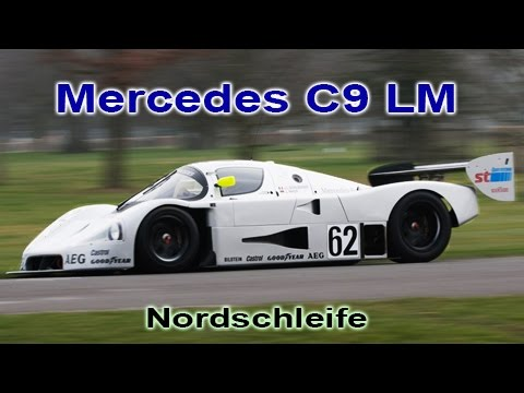 Assetto Corsa: Mercedes C9, Nordschleife Hotlap, Full Realism (6:28)(TV cam, HQ Sound) Dream Pack |