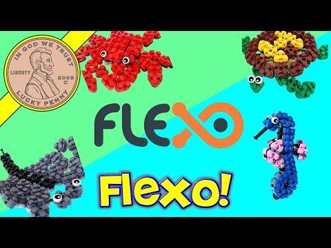 Flexo Ocean Life The Flexible Building Block System!