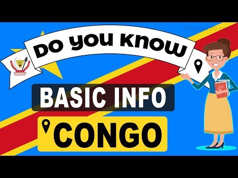 Do You Know Congo Basic Information | World Countries Information #39 - General Knowledge & Quizzes