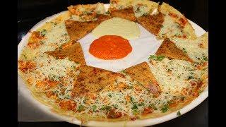 OPEN DOSA - KHULA DOSA   INDIAN STREET FOOD   MUMBAI STREET FOOD