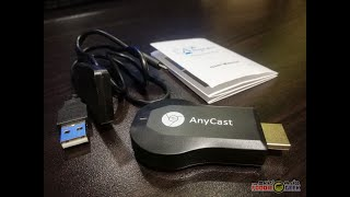 anyCast M2 Plus Miracast AirPlay Wi-Fi  HDMI Dongle Unboxing and Review