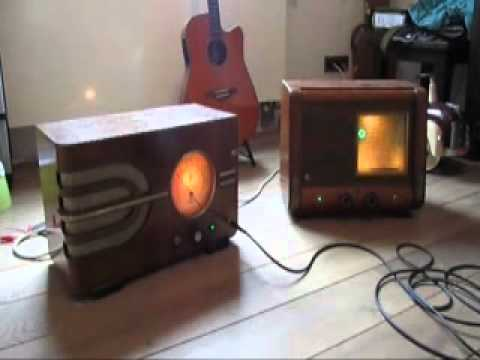 old stern stern radio converted to a guitar amp full tube 5w youtube. Black Bedroom Furniture Sets. Home Design Ideas