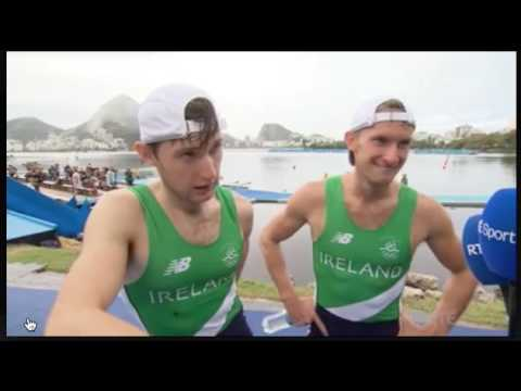 Paul and Gary O'Donovan Interview After Winning Silver in Rio