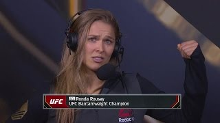 Ronda Rousey thinks Holly Holm