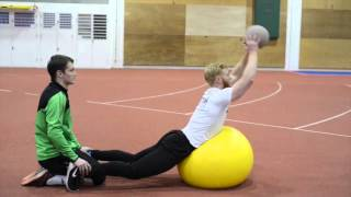 Specific Strength & Conditioning for the Javelin Throw - January 2016 - Video 1