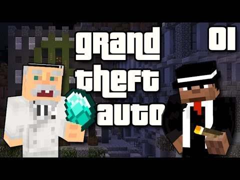 """Minecraft Grand Theft Auto Ep01 - """"Kentucky Fried Gangster!!!"""""""