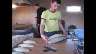 Грузия. Выпечка хлеба.