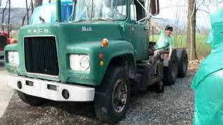 Old Mack Trucks