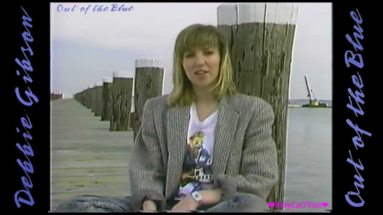 Out of the Blue  Debbie Gibson with Lyrics Video Clip PV  YouTube
