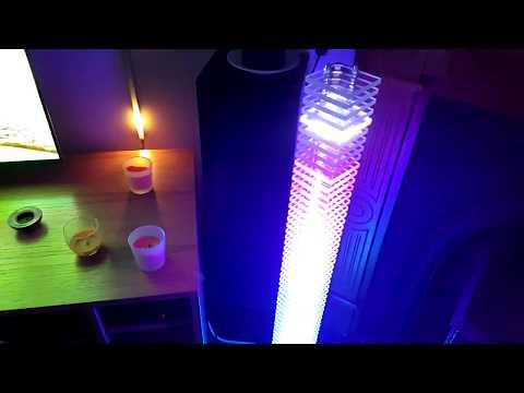 VU LED Tower - Large - Arduino, music reactive.