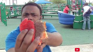 ANGRY BLACK MAN VS BURGER KING'S ANGRIEST WHOPPER @dcigs
