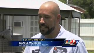 AC repair employees working overtime to keep Orlando cool