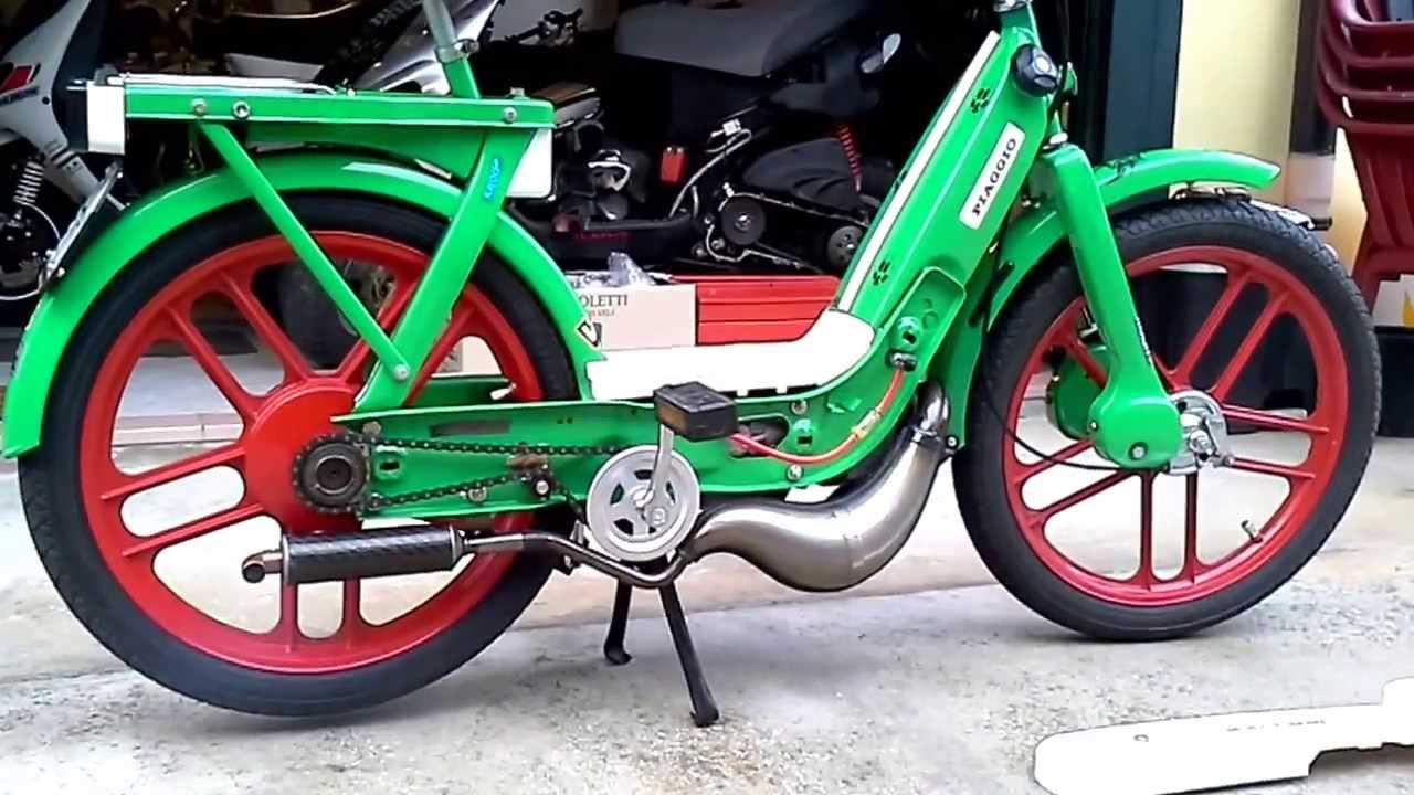 Piaggio ciao 1982 polini 60cc youtube for Ciao youtube