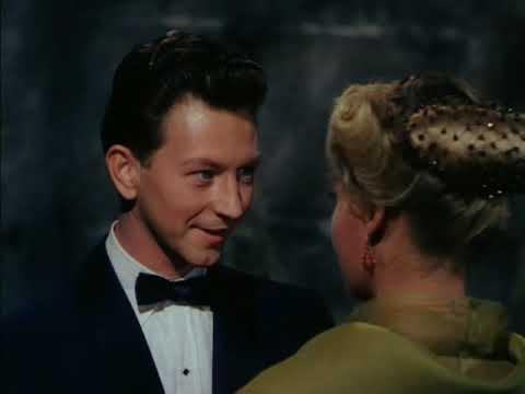 """Donald O'Connor and Vera-Ellen in a scene from """"Call Me Madam"""""""