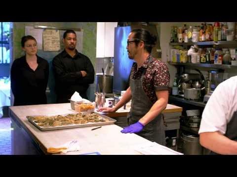 Chef Sho cooks for the JAMES BEARD House