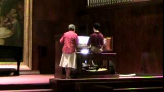 Timothy Jones performing Mendolssohn Sonata no.  3, Op. 65 con moto maestoso (1st mvt.)