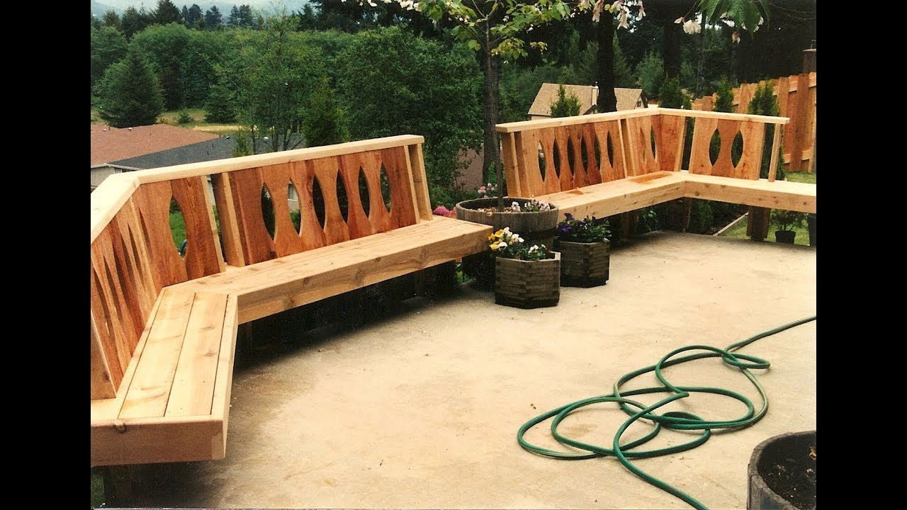 Deck Bench Designs Benches And Seating Solutions