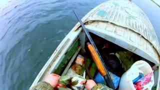 казанка и мотор меркури 30 яохота на речную курицу река ик