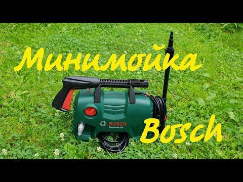 Видео обзор: Мойка высокого давления BOSCH EasyAquatak 120