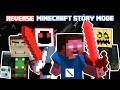 [REVERSE ROLE] GOOD HEROBRINE with EVIL TEAM?! - FULL Minecraft Story Mode (Evil Team Series)