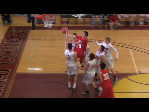 Tyler Tanner (Arlee) highlights from District 14-C basketball tournament