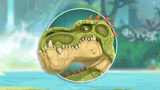 Пазлы с мультиками Динозавры | Puzzle with cartoons Gigantosaurus | Мультик пазлы