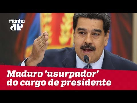 Assembleia Nacional da Venezuela declara Maduro 'usurpador' do cargo de presidente