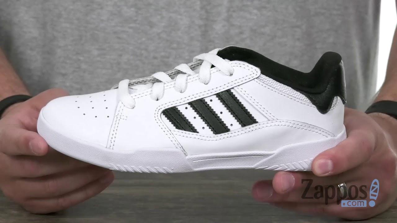 08fb2109fe07d4 adidas Skateboarding VRX Low (Little Kid Big Kid) SKU  9067840 - YouTube
